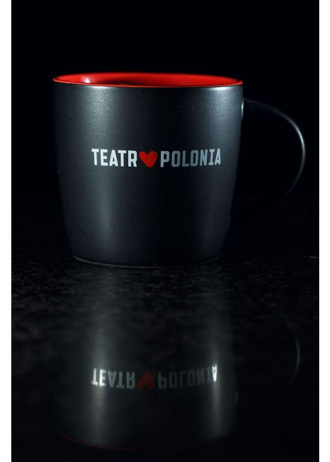 Kubek z logotypem Teatru Polonia